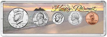 1999 Retirement Coin Gift Set THUMBNAIL