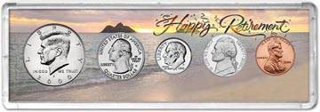2000 Retirement Coin Gift Set THUMBNAIL