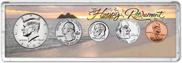 2005 Retirement Coin Gift Set THUMBNAIL
