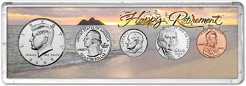 2009 Retirement Coin Gift Set THUMBNAIL