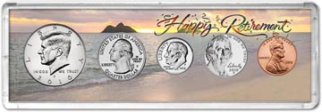 2010 Retirement Coin Gift Set THUMBNAIL