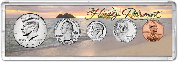 Retirement Coin Gift Set LARGE