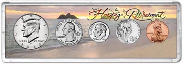 Retirement Coin Gift Set THUMBNAIL