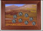 Roaming Herd Buffalo Nickel Collector Frame THUMBNAIL