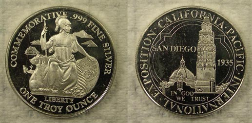 San Diego Half Dollar' Art Bar.