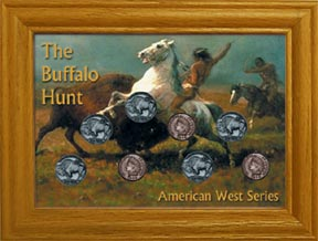 Buffalo Hunt Coin Collection