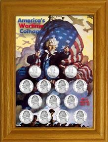 US Wartime Coinage Collection