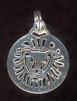Sterling Silver Charm, Leo