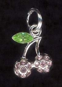 Sterling Silver Charm, Flowers