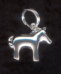 Sterling Silver Charm, Dog
