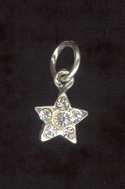 Sterling Silver Charm, Star