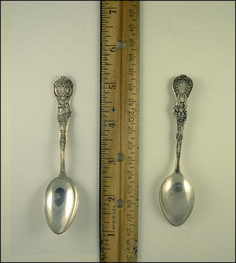 State Seal, Wheat, Flower Souvenir Spoon