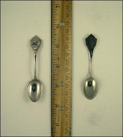 Enamel, Bird Souvenir Spoon