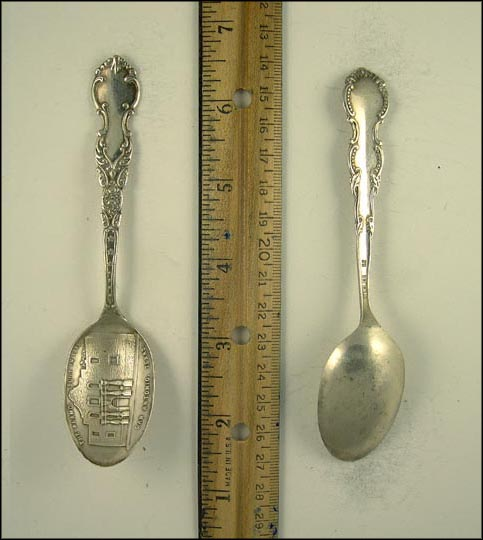 The Alamo, San Antonio, Texas Souvenir Spoon
