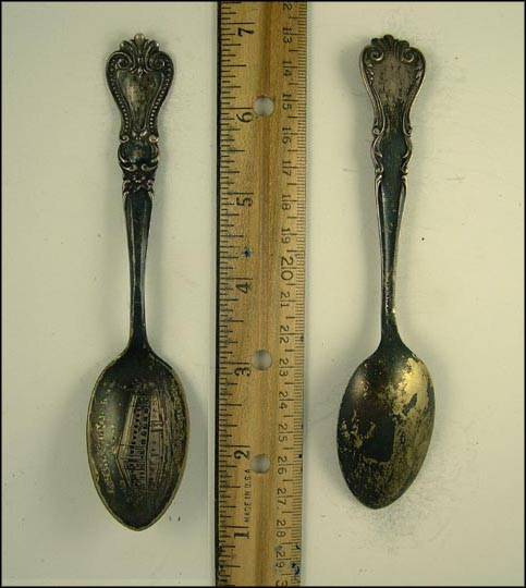 Calena Signal Bldg., Franklin, Pennsylvania Souvenir Spoon