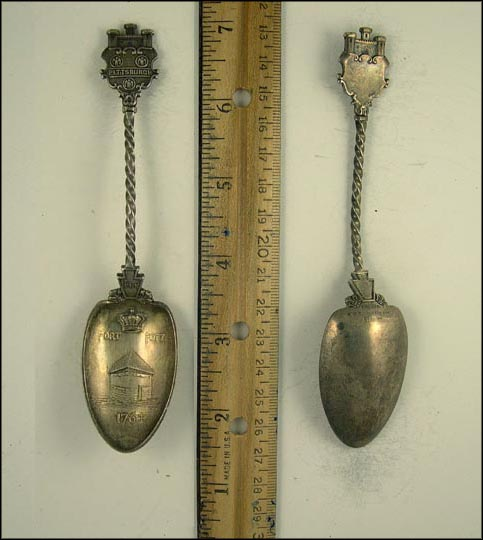 Fort Pitt 1764, Pittsburgh, Pennsylvania Souvenir Spoon