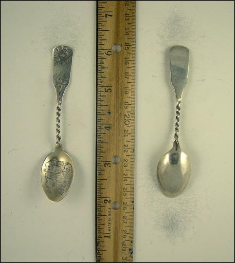Harriman, Water Mill Souvenir Spoon