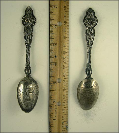 Steubenville, Ohio Water Works, Steubenville, Ohio Souvenir Spoon
