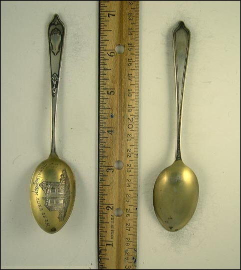 West Unity High School Souvenir Spoon