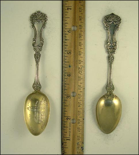 Court House, Canton, Ohio Souvenir Spoon