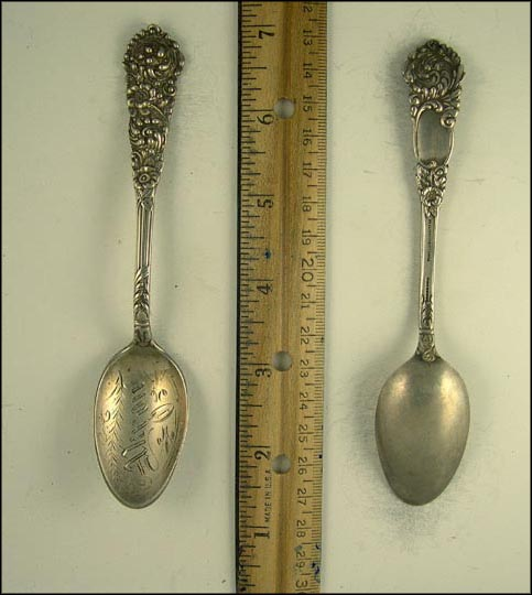 Akron, Ohio Souvenir Spoon