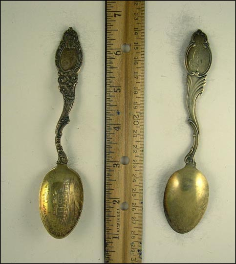 Administration Building B. I. S., Lancaster, Ohio Souvenir Spoon