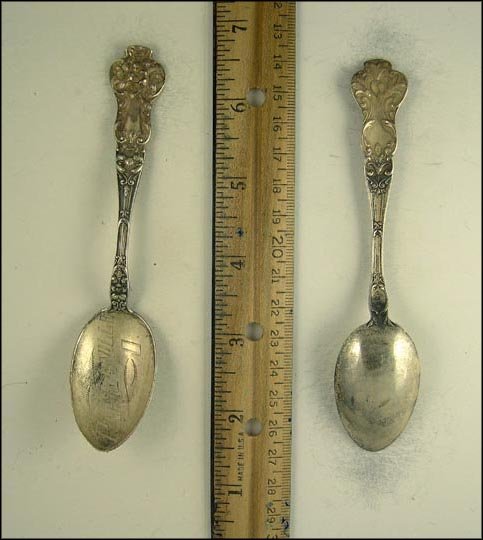 Painesville, Ohio Souvenir Spoon