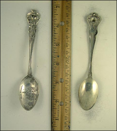 High School, Kinsman, Ohio Souvenir Spoon
