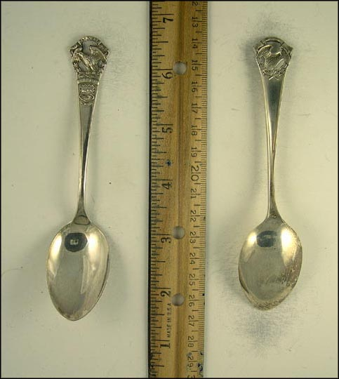 State Seal, Eagle Souvenir Spoon