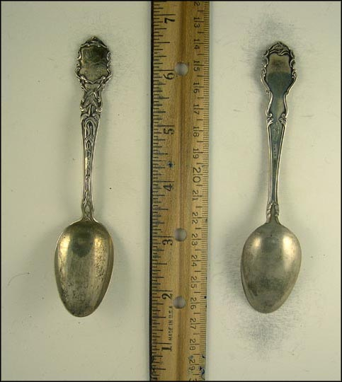 State Seal, Wheat Souvenir Spoon