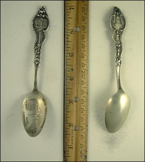 Monument Park, Soldiers and Sailors Monument, Perry's Monument... Souvenir Spoon