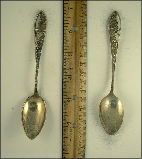 Miami University 1809, Oxford, Ohio Souvenir Spoon
