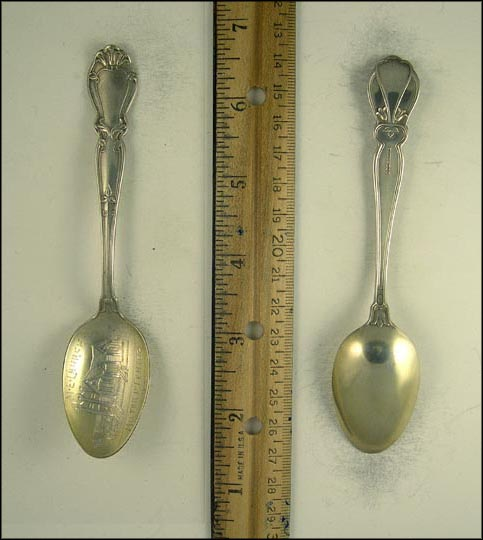M.E. Church, Milford Center, Ohio Souvenir Spoon