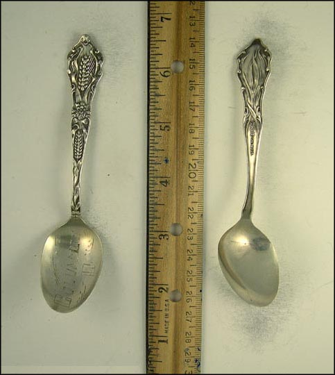 Wheat, Columbus, Ohio Souvenir Spoon