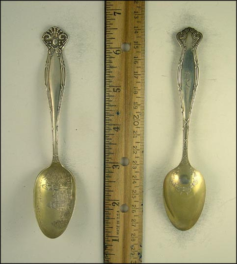 State Hospital, Athens, Ohio Souvenir Spoon