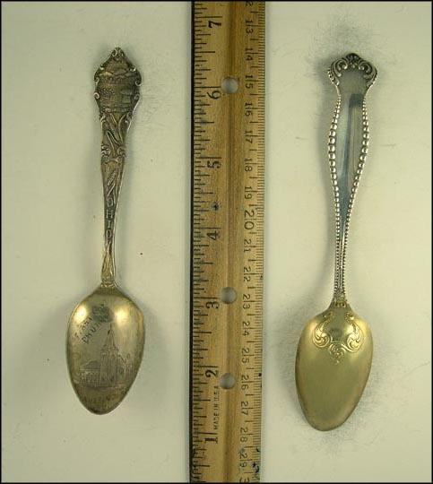 High School, Chillicothe, Ohio Souvenir Spoon