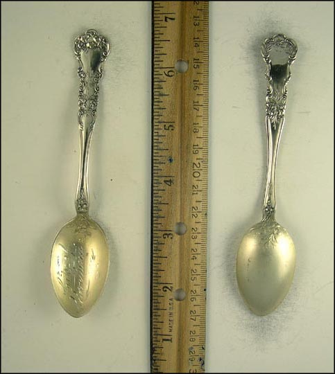 Cleveland, Illinois Souvenir Spoon