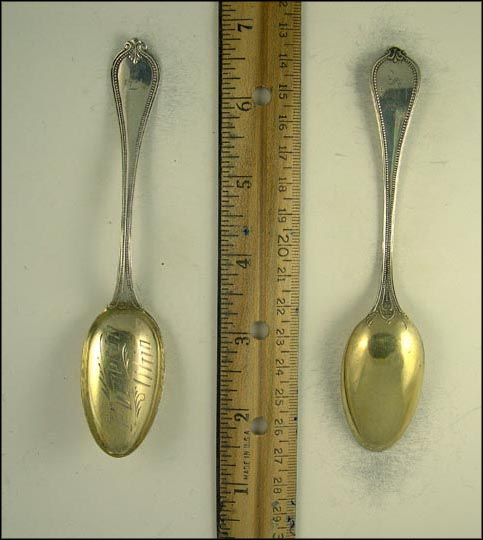 Cut Out, Portsmouth, Ohio Souvenir Spoon