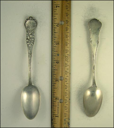 State Seal, Buckeye Branch Souvenir Spoon