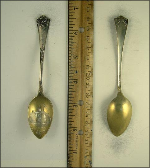 Warren High School, Warren, Ohio Souvenir Spoon