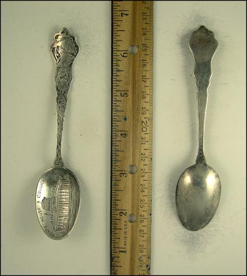 State House, Columbus, Ohio Souvenir Spoon