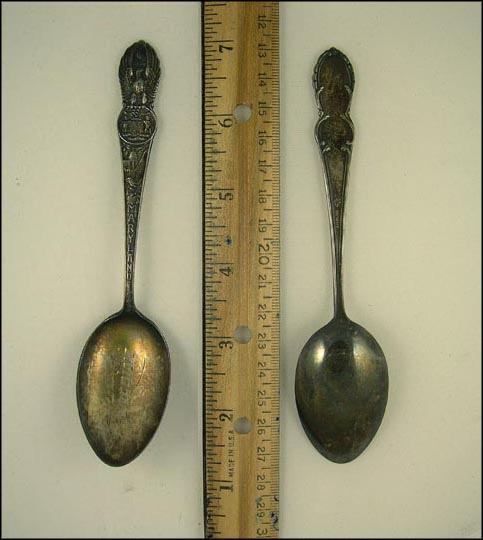 State Seal, Frederick, Maryland Souvenir Spoon