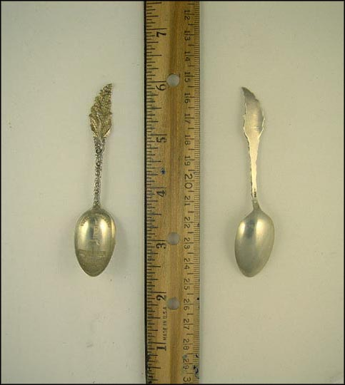 Battle Monument, Baltimore, Maryland Souvenir Spoon