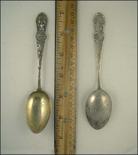 State Seal, Grant, Kansas Souvenir Spoon