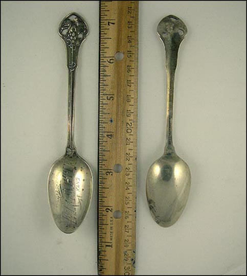 Burlington, Kansas Souvenir Spoon