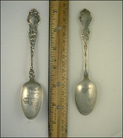 First M. E. Church, Galena, Kansas Souvenir Spoon