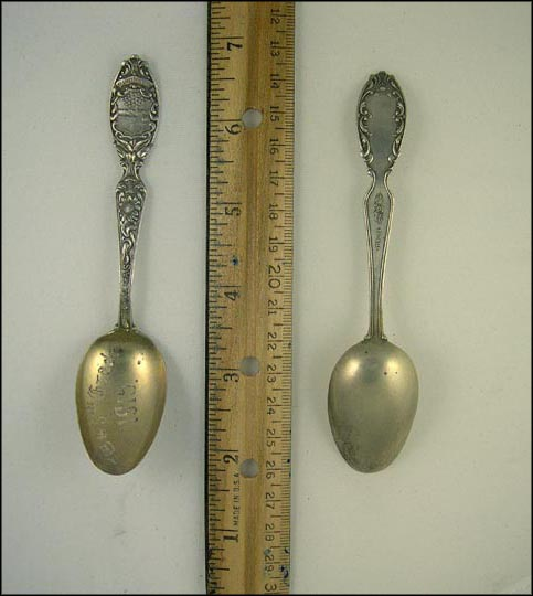 Kansas, State Seal, 7th & 8th Grade Souvenir Spoon