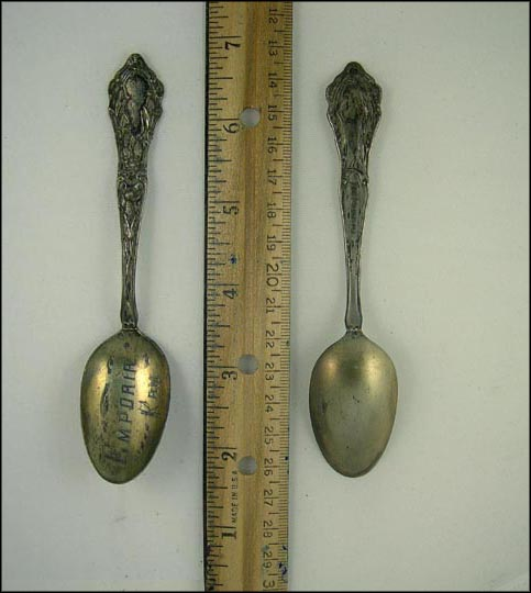 Corn, Emporia, Kansas Souvenir Spoon