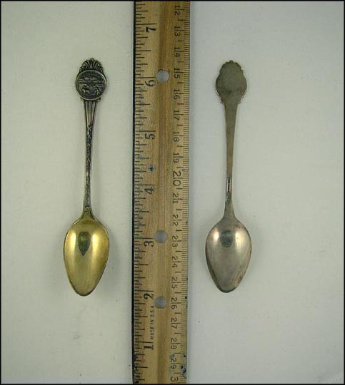Kansas, State Seal Souvenir Spoon