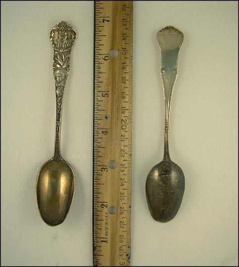Kentucky State Seal, Native American Souvenir Spoon